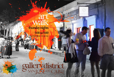 Art walk San Jose del Cabo safe
